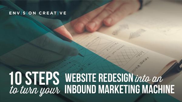 Turn your website redesign into an inbound marketing machine